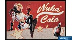 Fallout Nuka Cola Pin-Up Fußmatte Merchandise