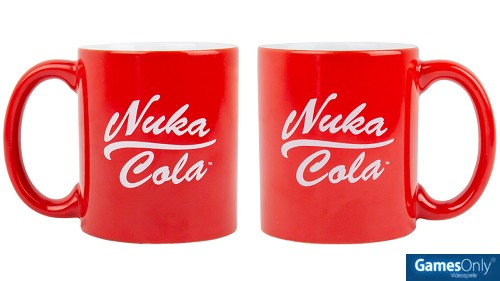 Fallout Nuka Cola Rot Tasse Merchandise