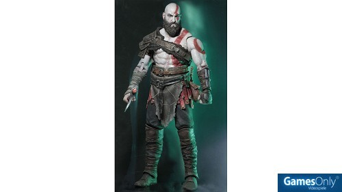 God of War 2018 Kratos Figur (18 cm) Merchandise