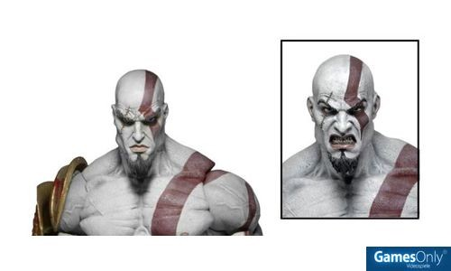 God of War Ultimate Kratos Figur (18 cm) Merchandise