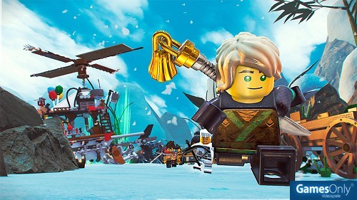 LEGO Ninjago Movie The Videogame PS4 PEGI bestellen