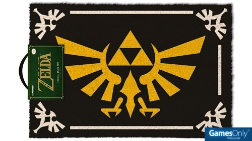 Legend of Zelda Triforce Fußmatte Merchandise