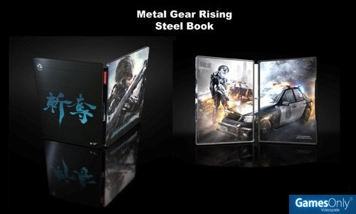 Metal Gear Rising Revengeance Sammler Steelbook Merchandise