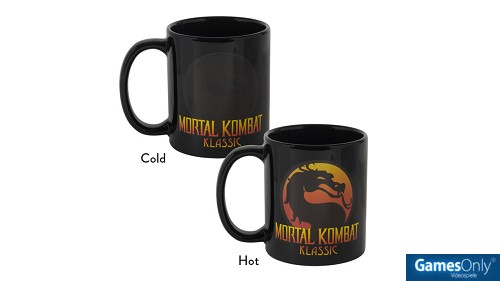 Mortal Kombat Heat Reactive Tasse Merchandise
