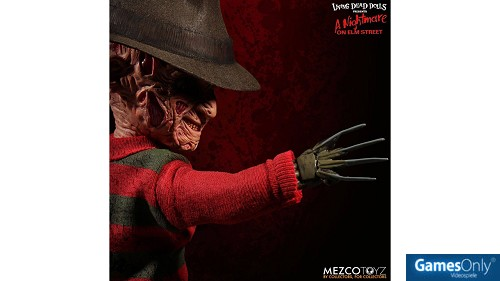 Nightmare on Elm Street Puppe mit Sound Freddy Krueger Merchandise