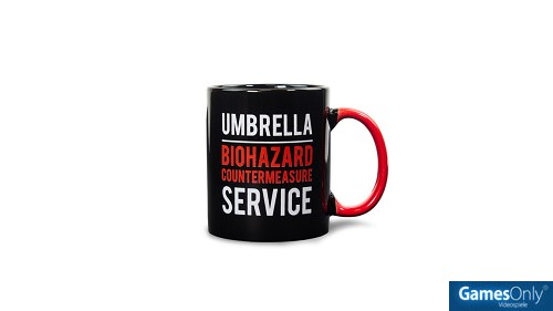 Official Resident Evil Metall Badge Tasse Merchandise