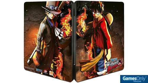 One Piece: Burning Blood Steelbook Merchandise