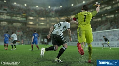 PES 2017 Pro Evolution Soccer PS4