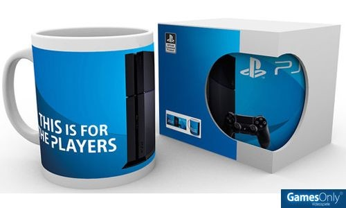PS4 Players Tasse Merchandise