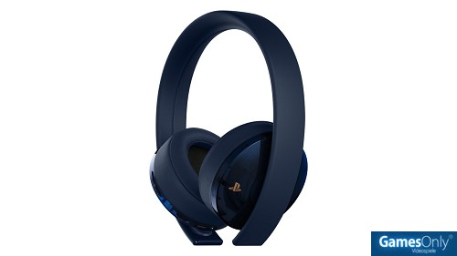 PlayStation 4 (PS4) Wireless 7.1 Headset GOLD 500 Millionen Special Edition PS4