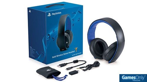 ps4 playstation 4 ps4 black wireless stereo headset 2 0. Black Bedroom Furniture Sets. Home Design Ideas