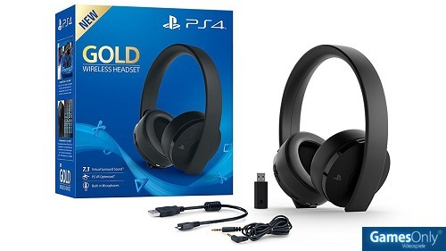 PlayStation 4 (PS4) Wireless 7.1 Headset GOLD Edition PS4 PEGI bestellen