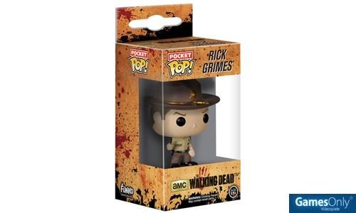 Rick Grimes Walking Dead POP! Keychain Merchandise