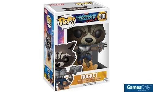 Rocket Guardians of the Galaxy 2 POP! Vinyl Figur Merchandise