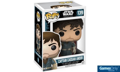 Rogue One Captain Cassian Andor Star Wars POP! Vinyl Figur Merchandise