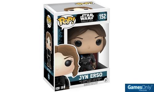 Rogue One Jyn Erso Star Wars POP! Vinyl Figur Merchandise