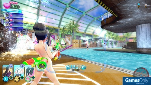 Senran Kagura Peach Beach Splash PS4