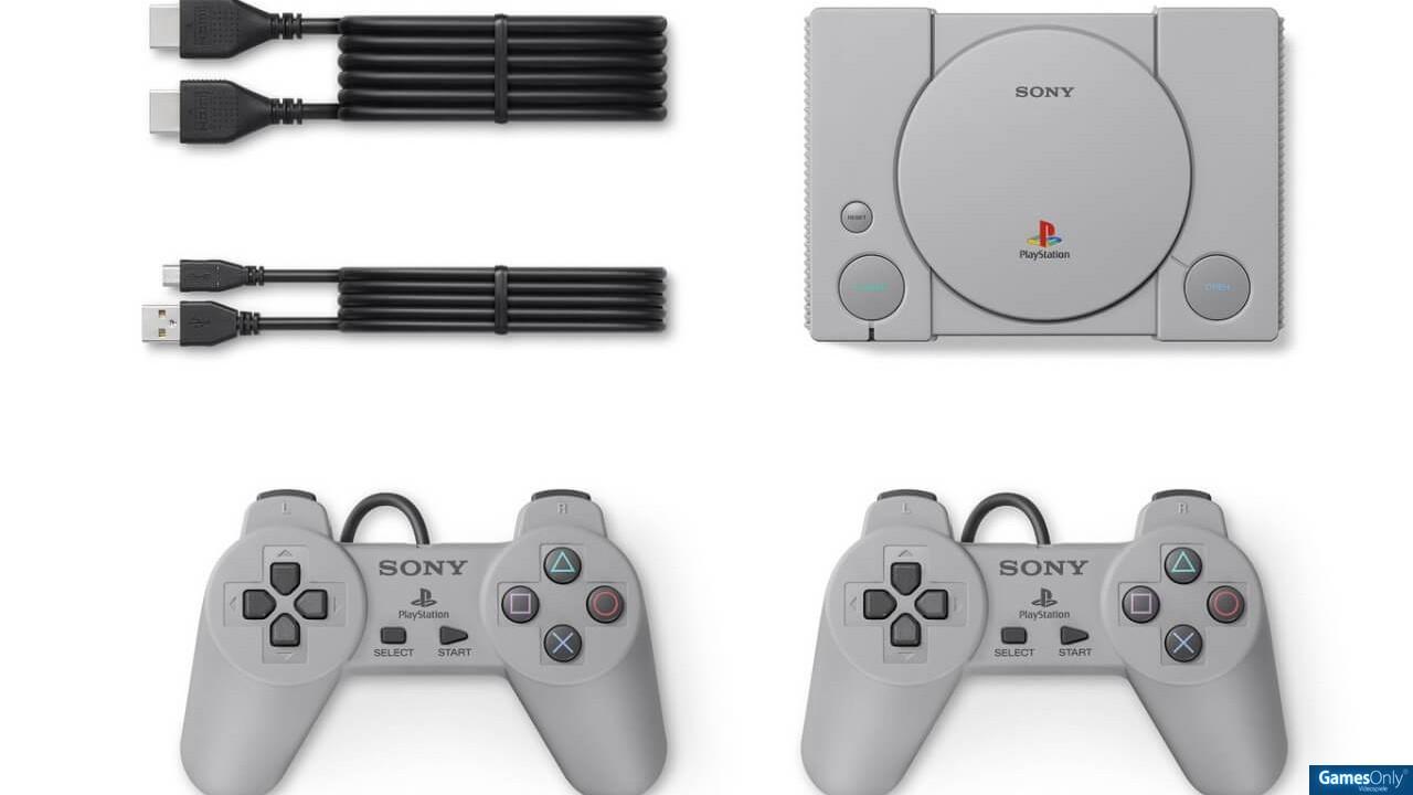 Gaming Zubehör Sony Playstation Classic Mini Konsole