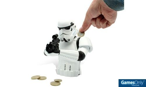 Star Wars Storm Trooper Coin Box Spardose Merchandise
