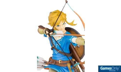 The Legend of Zelda Breath of the Wild Link Figur Merchandise