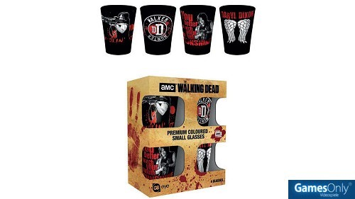 The Walking Dead Schnapsgläser Set Merchandise
