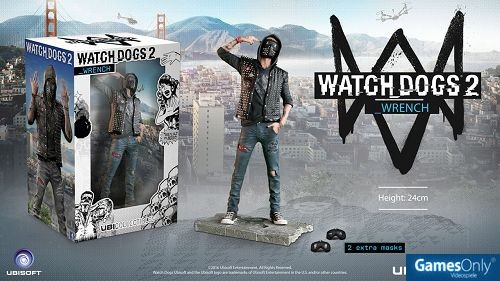Watch Dogs 2: The Wrench Figur Merchandise