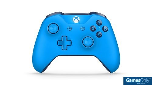 Xbox One Blue Wireless Controller Xbox One