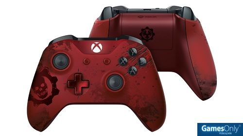 Xbox One Gears of War 4 Crimson Omen Limited Edition Wireless Controller Xbox One