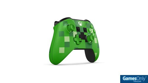 Xbox One Special Edition Minecraft Creeper Wireless Controller Xbox One